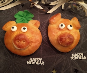Happy New Year Pigs